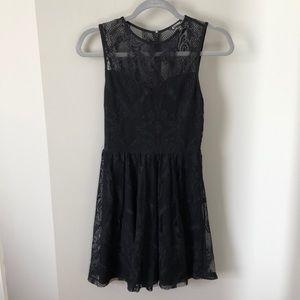 Express Little Black Dress Lace XS/TP